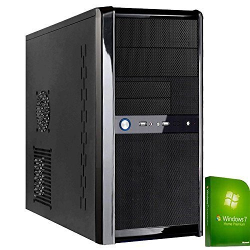 Discountedpcs Templer, Gaming Computer Home-Office AMD A8 - 6600K 4,2 ghz Quad Core CPU, AMD Ati Radeon Hd 8570D Grafik, 1000GB Festplatte, 8GB DDR3 1600MHZ Speicher, Funktastatur & Maus, Wi-fi Windows7 64-bit