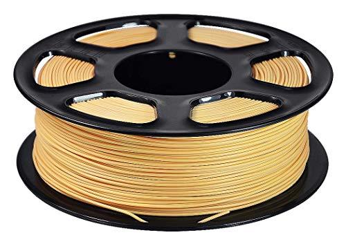 WSHZ Filament pour imprimante 3D PLA, Filament Multicolore, précision dimensionnelle +/- 0,02 mm, Chaque Bobine 1 kg, 1 Paquet de bobines, apte à l'impression 3D (Teint),5volumes