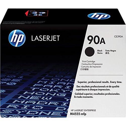 HP 90A CE390A Cartuccia Toner Originale, Compatibile con Stampanti LaserJet MFP M4555, Enterprise M601dn, M601n, M602dn, M602n, M603dn e M603n, Nero