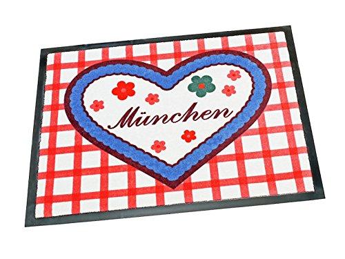 DuNord Design Felpudo (Lavable Diferentes Disponibles, Muenchen, 40 x 60 cm