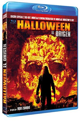 Halloween, el Origen BD 2007 Edición Coleccionista 2 BDs [Blu-ray]
