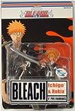 Bleach Series 1: Ichigo & Rukia Action Figures by Toynami