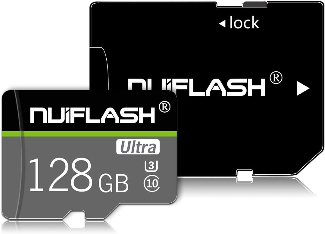 128GB Micro SD Card,TF Card/Memory Cards Class 10 High Speed with SD Card Adapter for Camera, Phone, Computer,Tablet, Drone, Dash Came, Surveillance, Tachograph