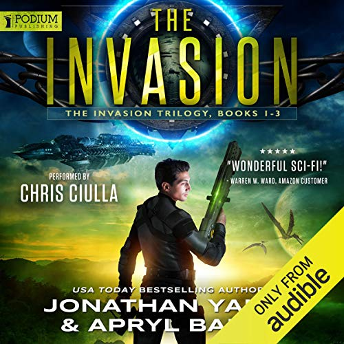 The Invasion Trilogy cover art