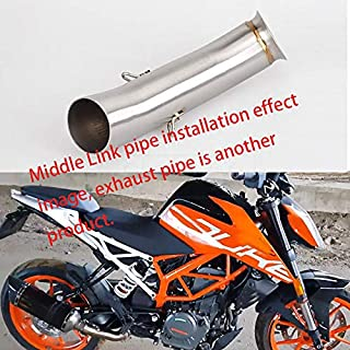 Motorcycle Akrapovic Exhaust Pipe And Link Pipe System For KTM DUKE 390 RC390 DUKE 125 2016 2017 2018 RC 390 DUKE 250 RC125