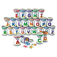Learning Resources Alphabet Soup Sorters, Early Phonics, ABCs, Alphabet Awareness & Recognition, 208 Pieces, Ages 3+