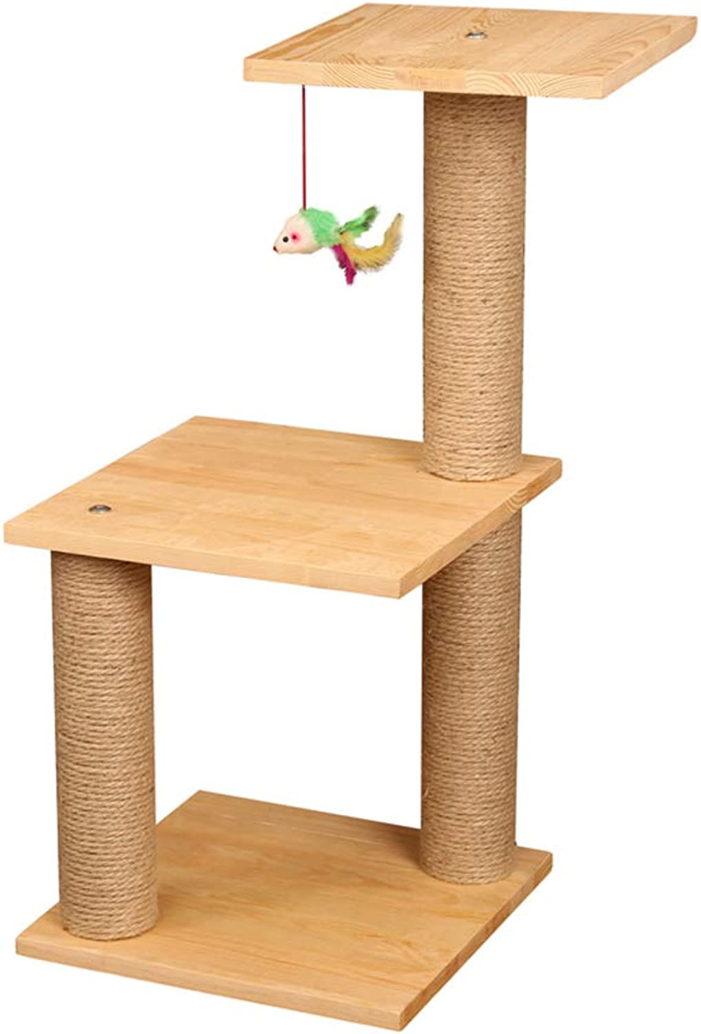 Ppmw Cat Scratch Board Pine Cat Climbing Frame Sisal Cat Litter Cat Tree Cat Toy