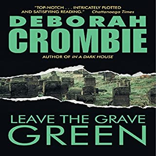 Leave the Grave Green audiobook cover art