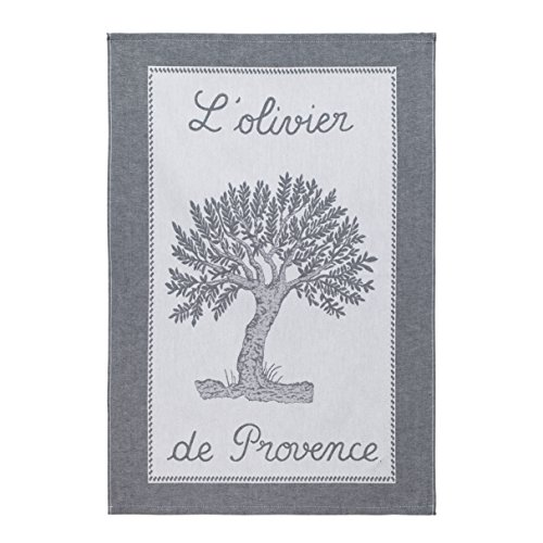 Coucke TNO-250-7002504-000-CKE French Collection, Coton, Olivier Noir, 20 x 30-inches, 50 x 75 cm