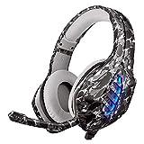 Auriculares PS4, Auriculares para Juegos MOTOFOCO con Sonido...
