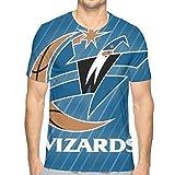 EU Washington Wizards Unisex 3D Novedad Camisetas Pullover Sudadera Bolsillos Navidad M