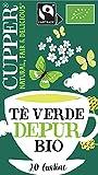 Cupper Tè Verde Depur Biologico Fairtrade (confezione da 20 bustine)