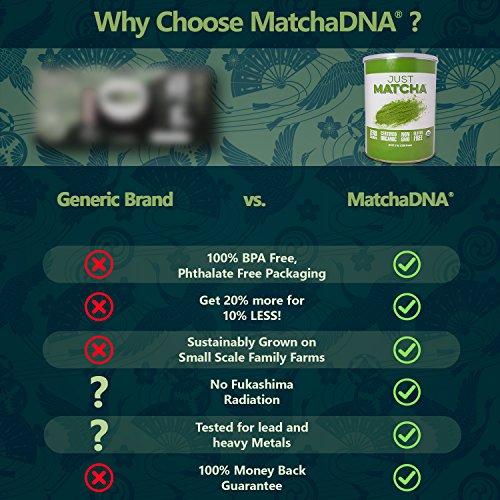 JUST MATCHA Matcha Green Tea Powder - 5 LBS - USDA Organic Culinary Grade (5 lbs)
