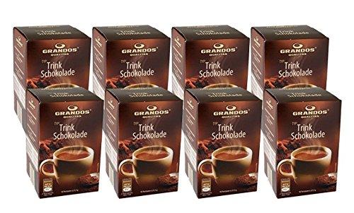 Grandos Trinkschokolade, 8er Pack