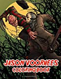 Jason Voorhees Coloring Book: Friday the 13th TV series Coloring Book For Adults Stress Relief Gift