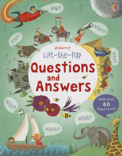 Questions and Answers (Usborne Lift the Flap Books)