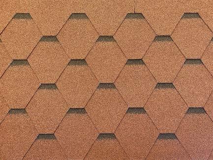Isolbau Dachschindeln Hexagonal Dreieck...