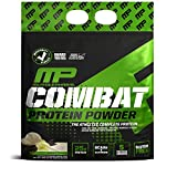 MusclePharm Combat Protein Powder, 5 Protein Blend, Vanilla, 10 Pounds, 135 Servings