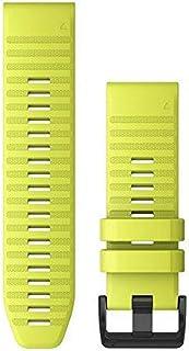 Garmin QuickFit 26 Watch Strap Silicone Jaune QuickFit 26, Watch Strap, Silicone, Jaune, 26 mm
