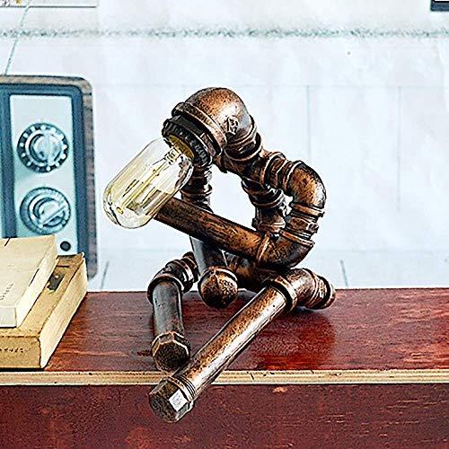 VIWIV Lámpara de Escritorio Lámpara de tubería de Agua Re