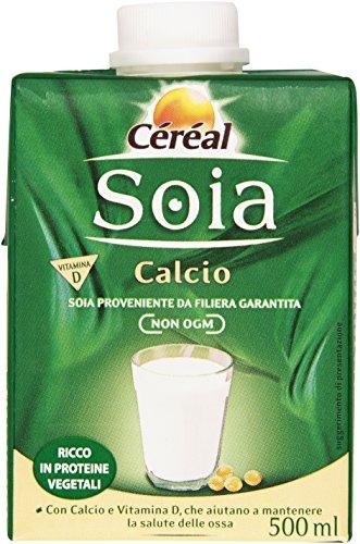 Cereal - Soia, con Calcio e Vitamina D - 500 ml