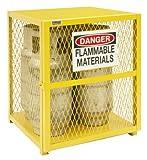 Durham Steel/Iron Vertical Cylinder Storage Cabinet, EGCVC4-50, 4...