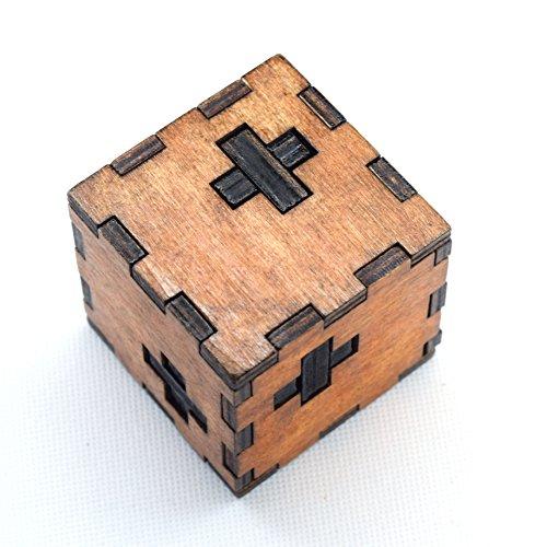 Joyeee® Legno Rompicapo Torsione Cube Puzzle Game 3D - Gioco di Mente Cubo - #11