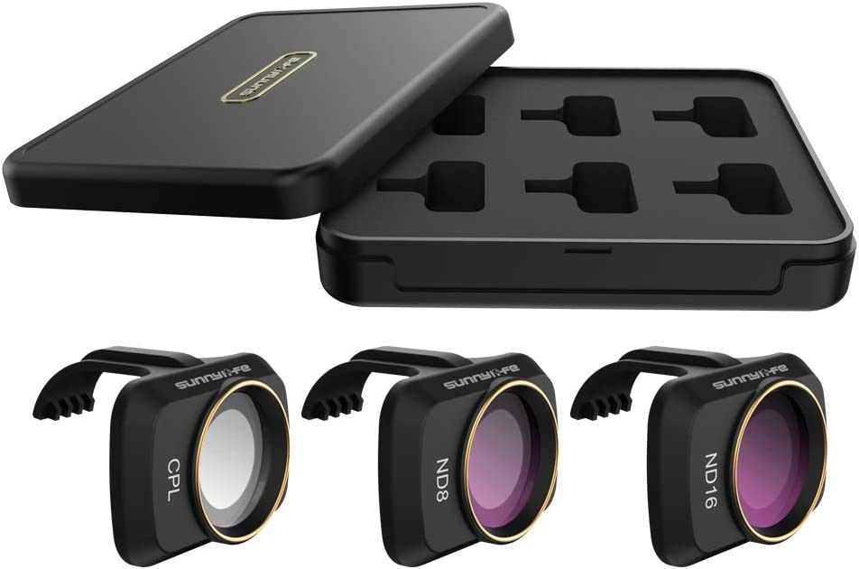 CPL//ND8//ND16 Honbobo Lens Filter UV//CPL//ND Set//NDPL Set Filter for DJI Mavic Mini