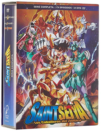 Saint Seiya Serie Clásica Completa. Episodios 1 A 114. [DVD]