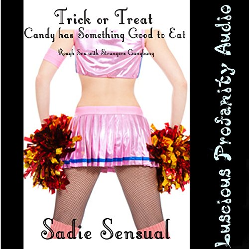 Trick or Treat Candy Has Something Good to Eat audiobook cover art