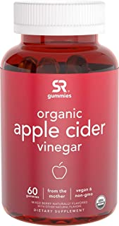 New! Organic Apple Cider Vinegar Gummies with The Mother | The First USDA Organic ACV Available | Non-GMO Verified, Vegan ...