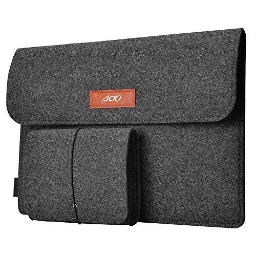 JCK 13,3 Pollici Custodia Borsa Protettiva Laptop Sleeve Cover Portatile Compatibile con MacBook Air 13 2018-2020/MacBook PRO 13 2016-2020/12,9 Nuovo iPad PRO 2018/Dell XPS 13/Surface PRO 7 6 5 4 3