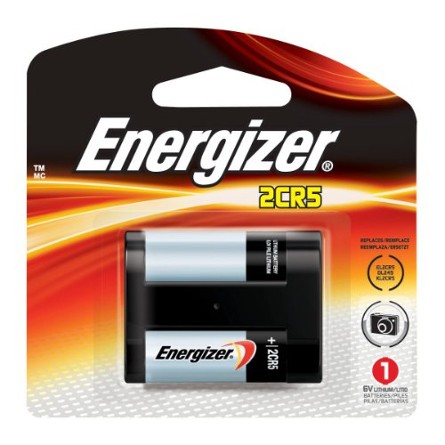 ENERGIZER e2 Lithium Photo Battery, 2CR5, 6Volt, Sold as 1 Each
