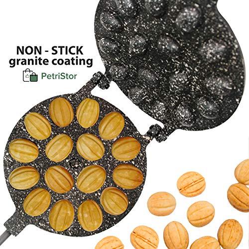 Métal Moules Formes pour Sweet Russian ORESHKI Set de 30 Pâtisserie Cookie nutlets