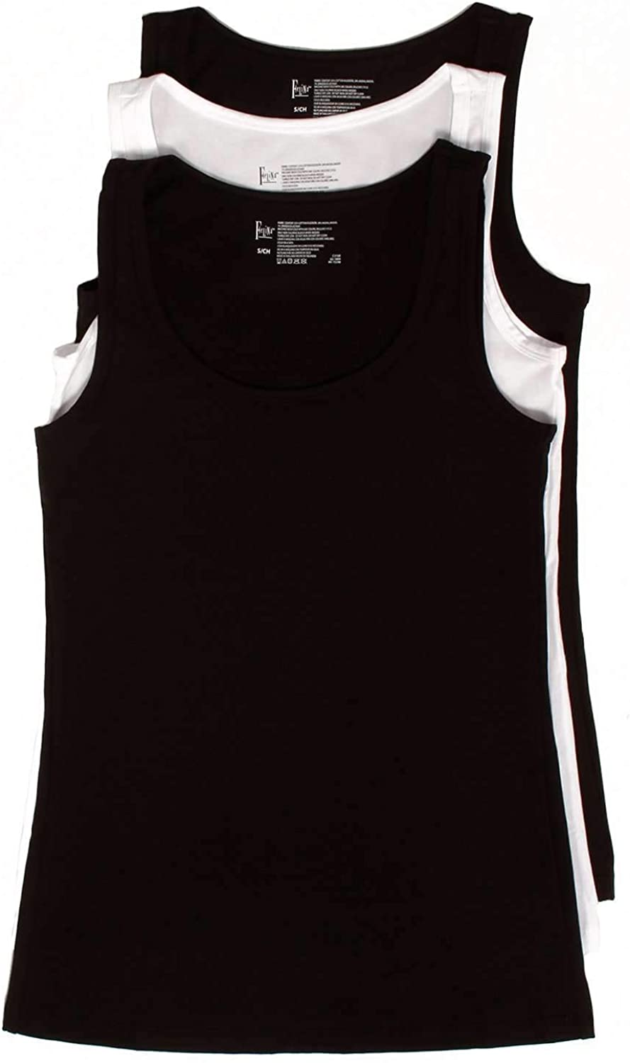 Cotton Stretch Layering Tank Top 3Pack