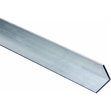 """3//8/"""" Aluminum Angle 2 1//2/"""" x 2 1//2/"""" x 24/"""" Structural 6061 Mill Finish"""
