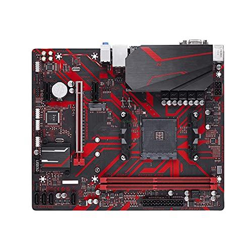 YLYWCG Placa Base de Juegos de computadora Apta para la Placa Base de computadora de Juegos GA B450M AMD ryzen 5 3600, CPU r5 3600 + ga b450m, Socket am4