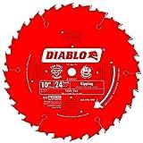 Freud D1024X Diablo 10' 24-Tooth ATB Ripping Saw Blade 5/8' Arbor