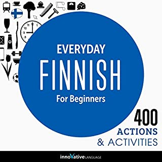 Couverture de Everyday Finnish for Beginners - 400 Actions & Activities