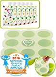 Baby Food Freezer Trays & Reusable Food Pouches   Baby Food Storage Pouch Perfect for Serving...