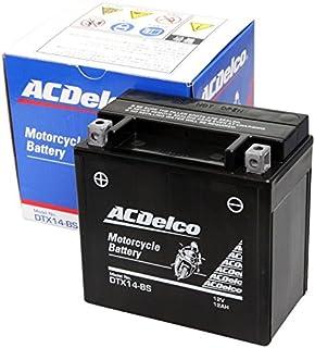 ACDelco [ エーシーデルコ ] シールド型 バイク用バッテリー DTX14-BS