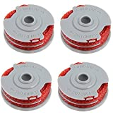 First4spares Double Autofeed Spool & Line <span class='highlight'>For</span> Flymo Trimmers Pack of 4