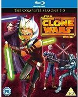 Star Wars Clone Wars - Season 1-5 [Blu-ray] [Import]