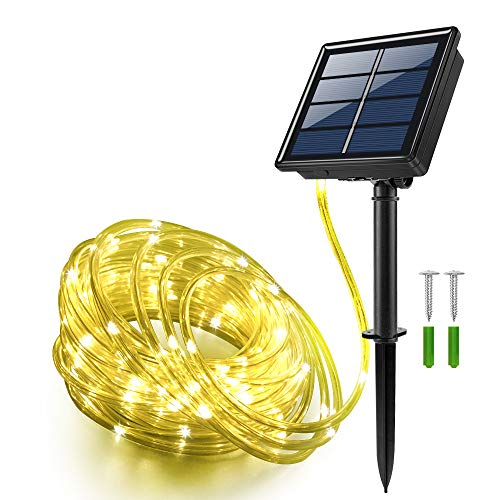 Solar Powered Rope Lights