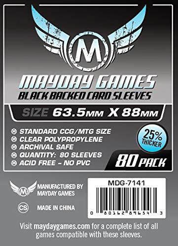 Fundas Standard Premium CCG Negra (66x91mm) (80): Amazon.es: Juguetes y juegos