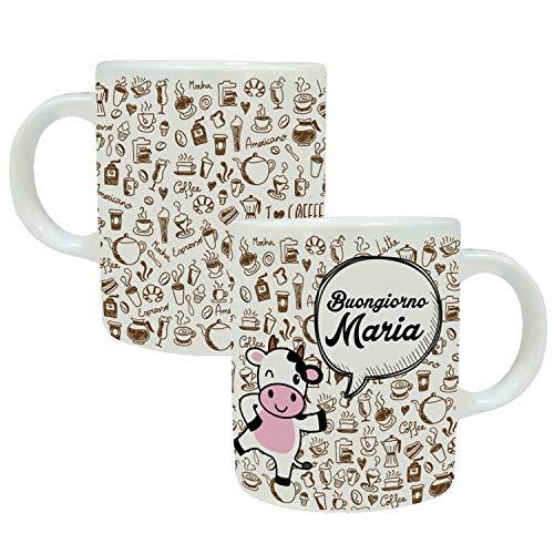 MP CREATIVE SRL Tazza Mug Personalizzata con Nome Idea Regalo