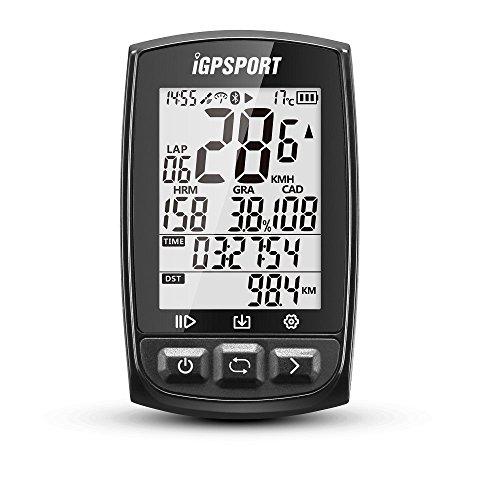 IGPSPORT Fietscomputer GPS met Ant+ iGS50E Fietscomputer Draadloos
