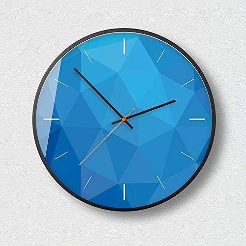 Preisvergleich Produktbild Wanduhr Modernes Design Heimtextilien,  leise,  batteriebetrieben,  abstrakte Kunst Stil Wanduhren für Wohnzimmer in Wanduhr Interessante Uhren, B1