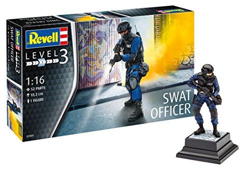 ドイツレベル 1/16 SWAT スワットチームリーダー プラモデル 02805