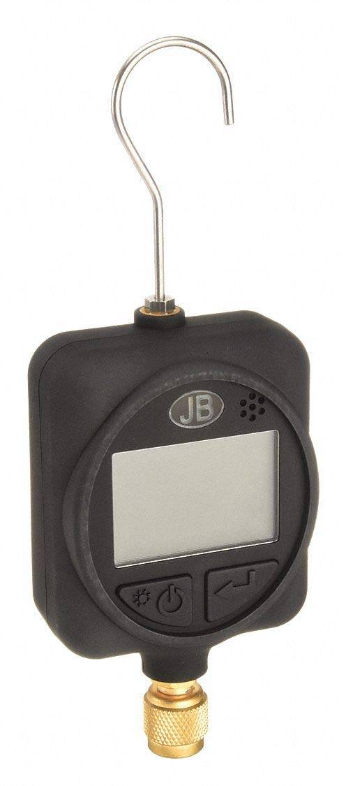 JB Industries Digital Micron Gauge with Case LCD